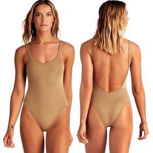 Vitamin A Swim LEAH High Cut One Piece Swimsuit